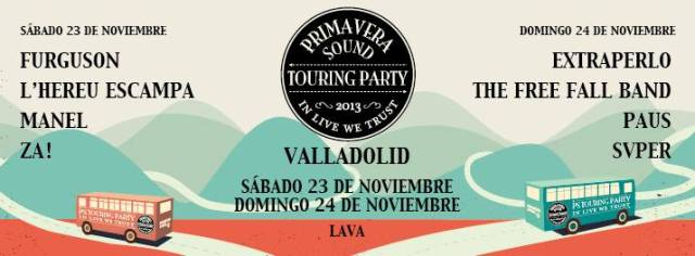 Primavera Sound Touring Party