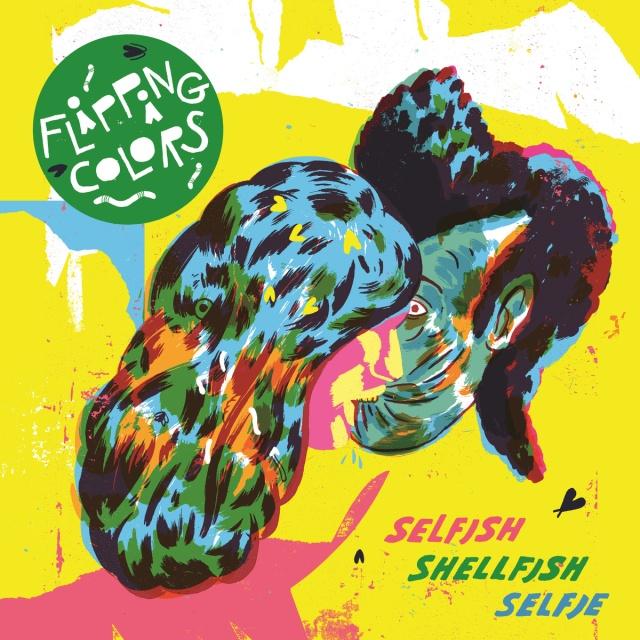 Flipping Colors Selfish Shellfish Selfie